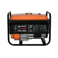 Бензиновый электрогенератор Daewoo GDA 3500